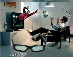 3D television for sale